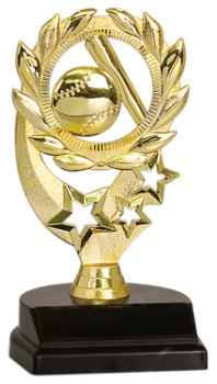 SPORT WREATH BASEBALL TROPHY