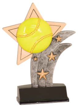 SOFTBALL SPORT STAR RESIN