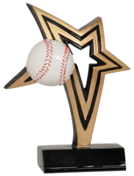 INFINITY STAR BASEBALL RESIN