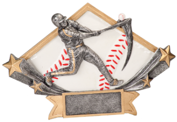 DIAMOND STAR BASEBALL RESIN