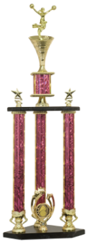 3 POST CHEER TROPHY