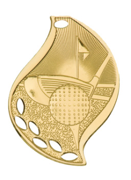 GOLF FLAME SPORT MEDAL