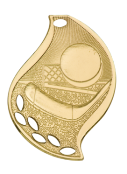 HOCKEY FLAME SPORT MEDAL