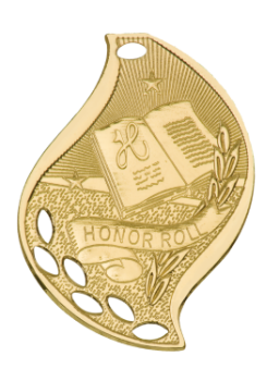 HONOR ROLL ACADEMIC FLAME MEDAL