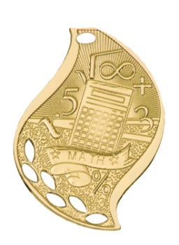 MATH ACADEMIC FLAME MEDAL