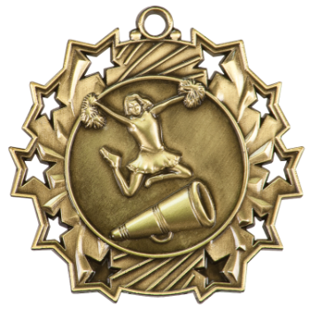 CHEER TEN STAR SPORT MEDAL