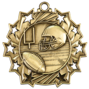 FOOTBALL TEN STAR SPORT MEDAL