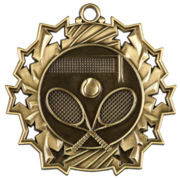 TENNIS TEN STAR SPORT MEDAL