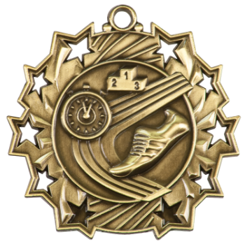TRACK TEN STAR SPORT MEDAL
