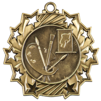 ART TEN STAR ACADEMIC MEDAL