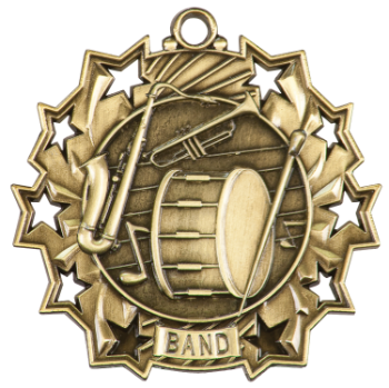 BAND TEN STAR ACADEMIC MEDAL