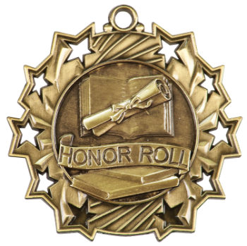 HONOR ROLL TEN STAR ACADEMIC MEDAL
