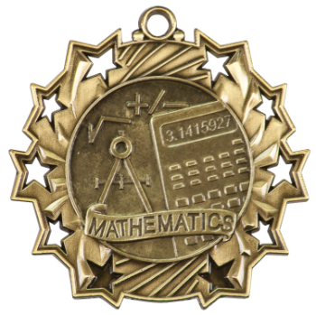 MATH TEN STAR ACADEMIC MEDAL