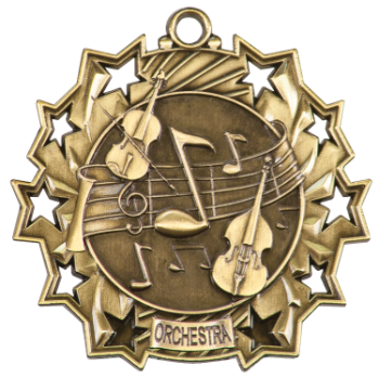 ORCHESTRA TEN STAR ACADEMIC MEDAL