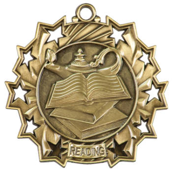 READING TEN STAR ACADEMIC MEDAL