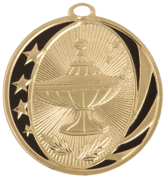 LAMP OF KNOWLEDGE MIDNITE STAR MEDAL