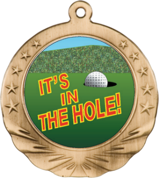 GOLF MOTION MEDAL