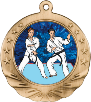 MARTIAL ARTS MOTION MEDAL