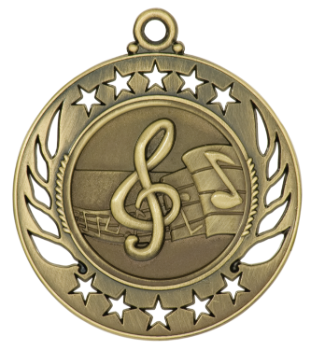 MUSIC GALAXY MEDAL
