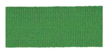 SOLID GREEN NECK RIBBON WITH SNAP CLIP