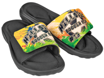 Custom Slide-On Sandals