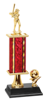 Gold Softball Trophy