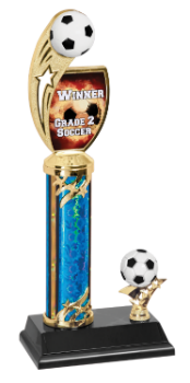 Custom Graphic Soccer Trophy