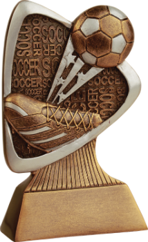 Soccer Triad Resin Award