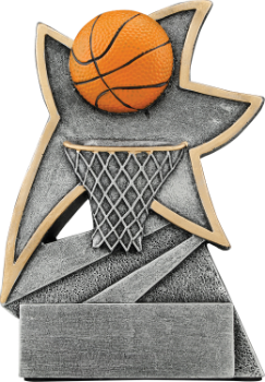 Basketball Jazz Sstar Award