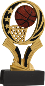 Basketball MidNite Star Resin Award