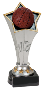 Basketball Rising Star Resin Award