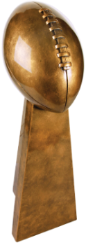 Antique Gold Football Award