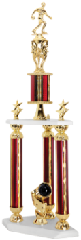 3-Post Bowling Trophy