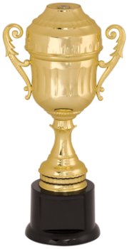 Gold Plastic Cup Trophy