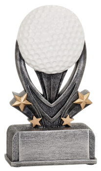 Golf Varsity Sport Resin Award