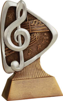 Music Triad Resin Award