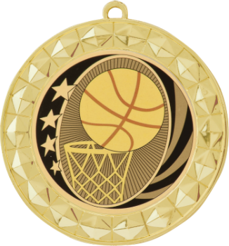 MidNite Star Basketball Medal