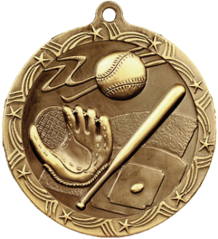 Baseball/Softball Shooting Star Medal