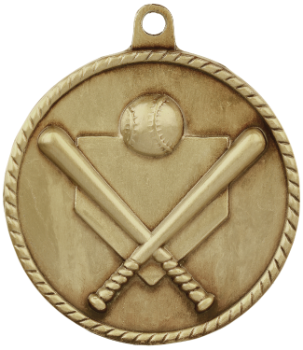 Baseball/Softball High Relief Medal
