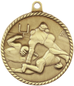 Football High Relief Medal