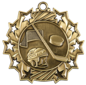 Hockey Ten Star Medal