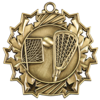 Lacrosse Ten Star Medal