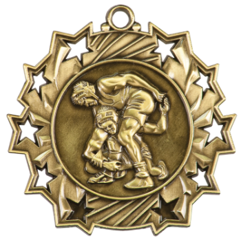 Wrestling Ten Star Medal