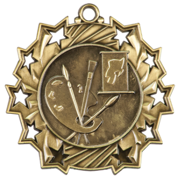 Art Ten Star Medal