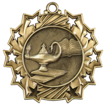 Lamp of Knowledge Ten Star Medal