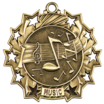 Music Ten Star Medal