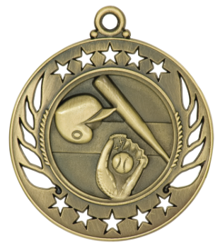 Baseball/Softball Galaxy Medal