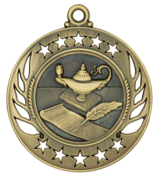 Lamp of Knowledge Galaxy Medal