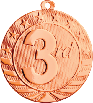 3rd Place Starbrite Medal