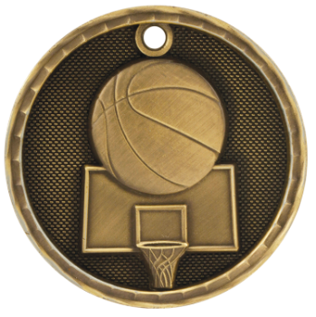 Basketball 3D Medal